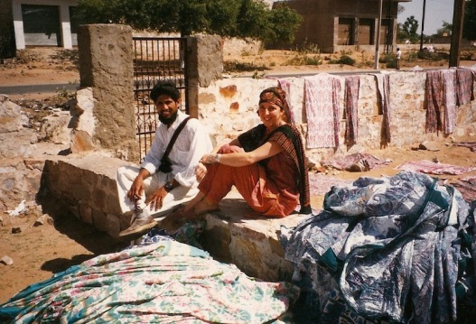Andree and Radha in Sanganer1987-m.jpeg