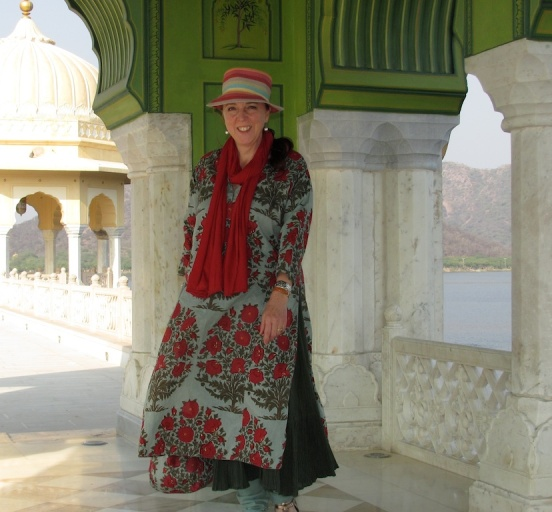 Andree Pouliot in Jaipur